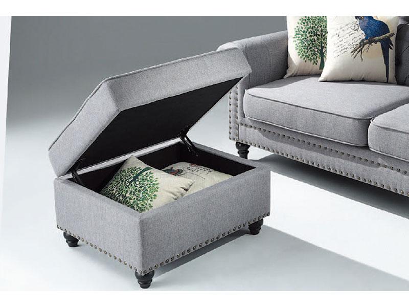 506-1布沙發腳椅圖